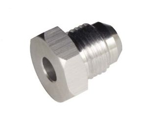 Redhorse Performance 971-12-0 -12 Male An/Jic Weld Flange Adapter (Unanodized)