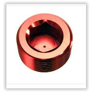 "Red Horse Products 932-04-3 Npt Plug -04 (1/4"") NPT HEX HEAD PIPE PLUG –"