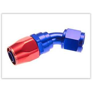 Red Horse Products 1045-10-1 Hose End -10 45 DEGREE FEMALE ALUMINUM HOSE