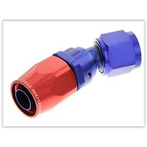 Red Horse Products 1030-06-1 Hose End -06 30 DEGREE FEMALE ALUMINUM HOSE
