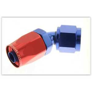 Red Horse Products 0045-10-1 -10 45 degree female aluminum hose