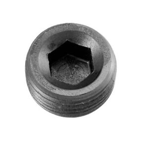 "Redhorse Performance 932-01-2 -01 (1/16"") Npt Hex Head Pipe Plug – Black – 2/Pkg"