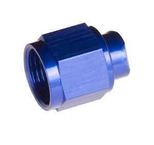 Redhorse Performance 929-04-1 -04 Two Piece An/Jic Flare Cap Nut – Blue