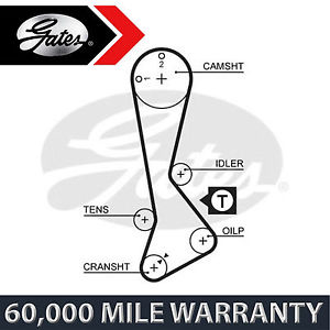 FOR TOYOTA COROLLA FX COMPACT 1.3 (1985-1987) GATES TIMING CAM BELT CAMSHAFT