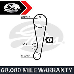 FOR TOYOTA COROLLA COMPACT 1.6 (1992-2000) GATES TIMING CAM BELT CAMSHAFT