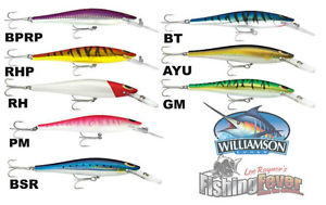 Williamson Speed Pro Deep Diving Lures 160mm At FISHING FEVER