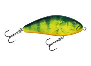 Salmo Fatso Wobbler Pullbait RHP real  perch