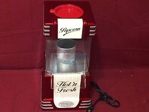 Nostalgia Electrics RHP-625 Hot Air Popcorn Maker -USED- Missing…See Info