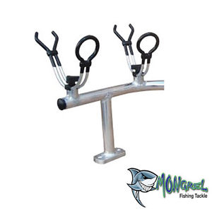 4 Way Left Hand Corner Rod Holder  Alloy Mongrel Fishing