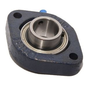 "LFTC1-3/8EC 1-3/8"" Bore NSK RHP Cast Iron Flange Bearing"