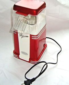 Nostalgia Mini Hot Air Popcorn Maker pops up to 8 cups per Batch ~ Oil Free