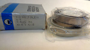 IN BOX SET OF (2) BARDEN 112H  SUPER PRECISION BEARING