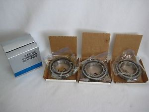 Barden Precision Bearings 114H Deep Grove Angular Contact Set Of 3 Sealed NOS