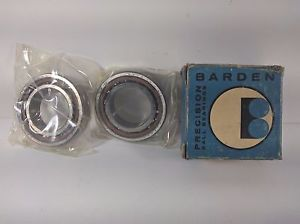 Lot of 2 New Barden 107HDL Angular Contact Ball Bearings Precision Made In Usa
