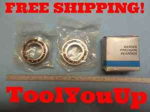 2pcs BARDEN BEARING 106HEDVH 52 Y M USA   -3 / -059   BARDEN 106 HEUH TOOLING