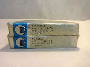 SEALED SET OF (2) BARDEN 118HDME13 ANGULAR CONTACT SUPER PRECISION BEARING