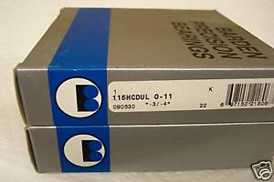 BARDEN 115HCDUL PRECISION ANGULAR CONTACT BEARINGS (SET)  IN BOX