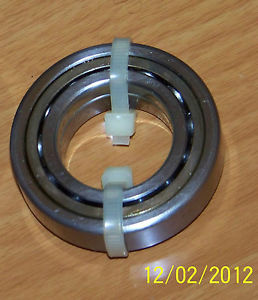 BARDEN Annular M106GX20  Precision Annular BEARINGS. with Silver Retainer.