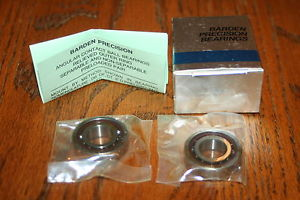 (Set of 2) Barden 102-HDL Super Precision Bearings (SKF 7002 CDP4A DGA)