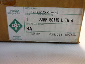 IN BOX INA ZARF 50115-L-TN-A-NA AXIAL CYLINDRICAL ROLLER BEARING ASSEMBLY