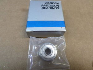 Barden Precision Bearings 37SSTX2K3 Single Row Ball Bearing