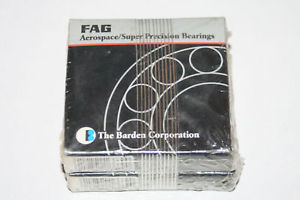 FAG Barden 7602030-TVP Super Precision Angular Contact Bearings (Lot of 2)