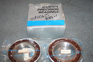 Barden 111HDM Super Precision Angular Contact Bearings 111-HCDUM (Set of 2)