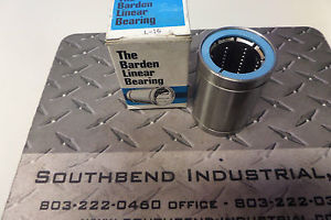Barden Linear Bearing L-16 L16 New