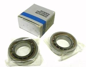 "SET OF 2 BARDEN 106HDL PRECISION BALL BEARING 2-1/8"" X 1-1/4"" X 1/2"""
