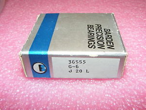 ONE  OLD STOCK BARDEN PRECISION BEARINGS 36SS5 G-6 J 20 L