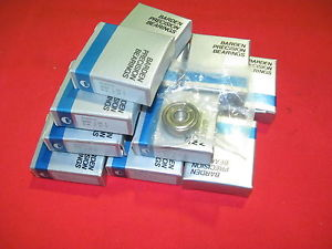 Barden High Speed Bearing S39SS3C G-2 New Radial, Single Row Super Precision
