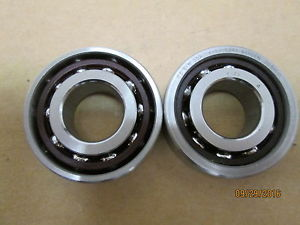 OTHER, 1 PAIR BARDEN 203HCUL PRECISION ANGULAR CONTACT BEARING.