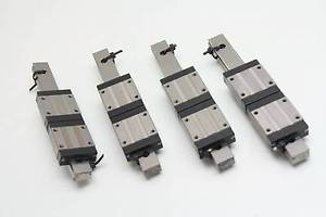 4 Misumi Barden Linear Motion Guide Rails with SSEBV16 Blocks 150mm Bearing
