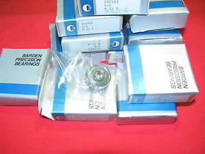 Barden High Speed Bearing S37SS3 G-2 New  Radial, Single Row, Super Precision