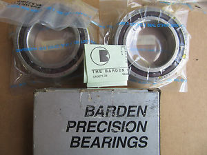 Barden 2110HDL Precision Bearings Matched Set !!! in Box Free Shipping
