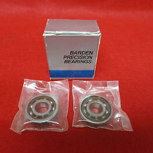 (New) Barden Precision Bearings 201 HDM Thrust Contact Ball Bearing (2-in box)