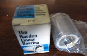 Barden Linear Ball Bearing, L-16