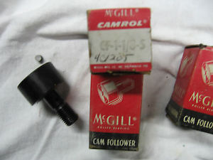 Lot of THREE McGill – CF 1 1/8 S – Cam Followers – NOS NIB
