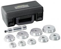 BOSCH AUTOMOTIVE SERVICE SOLUTIONS Bearing Race & Seal Driver 10pc Set