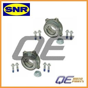 Set Of 2 Rear Wheel Bearing OEM SNR 2119810227 For: Mercedes W211 W221