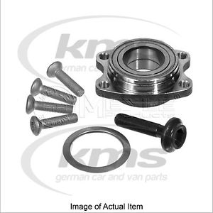 WHEEL BEARING KIT AUDI A4 Convertible (8H7, B6, 8HE, B7) 3 220BHP Top German Qua