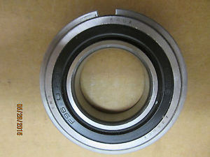 , SNR 6006-2RSNR SEALED BALL BEARING W SNAP RING, PREM BRAND MADE IN FRANCE.