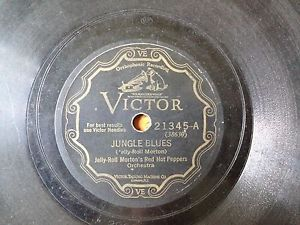 Victor 21345 – Jelly Roll Morton's RHP / Richard M Jones Jazz Wizards  – 78 RPM