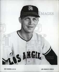 1965 Press Po Dan Osinski, RHP BR, Los Angeles Angels – cvb76613