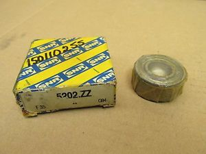 NIB SNR 5202ZZ BEARING METAL SEALED 5202 ZZ 15x35x16 mm