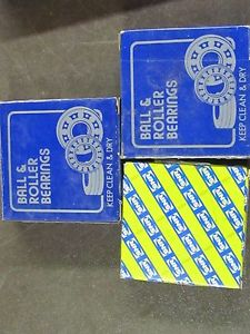 NJ210 BEARING RHP NJ-210 & SNR NJ.210.E.G15 LOT OF 3