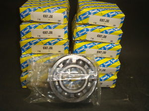 SNR SINGLE ROW BALL BEARING, 6307.J30,  IN BOX