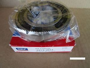SKF 6212-2RS1,6212-2RS 1, Single Row Radial Bearing (=2 FAG, NSK, KOYO, SNR)