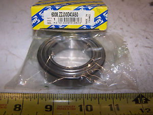 SNR SINGLE ROW BALL BEARING 6008ZZJ30D43A50
