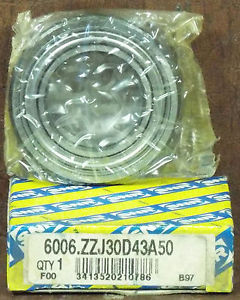 1  SNR 6006.ZZJ30D43A50 BALL BEARING NIB *MAKE OFFER*